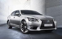 Новый седан представительского класса Lexus LS