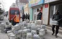В Днепре из 700 литров изъятого алкоголя сделают антисептики