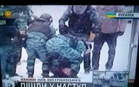 «Беркут» полностью зачистил ул.Грушевского