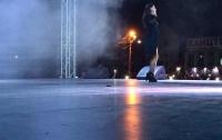 На концерте Златы Огневич в Хмельницкой области обрушилась сцена от урагана