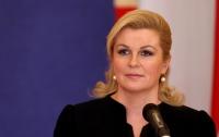 Президент Хорватии выдвинула РФ серьезное обвинение