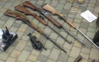 У жителя Закарпатья изъяли арсенал оружия
