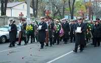 Как Одесса прощалась с погибшими военными моряками (ФОТО)