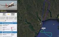 Самолет с российскими туристами приземлился в Одессе, не долетев до Москвы