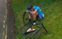Юный спортсмен расплакался от ужасной несправедливости