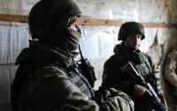 На Донбассе сегодня ранен украинский военный