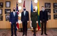 Главы МИД Британии и стран Балтии договорились поддерживать Украину