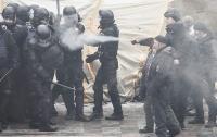 На митинге у стен Верховной Рады пострадал полицейский