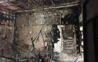 На Донбассе сгорела база волонтеров