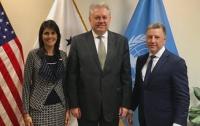 Волкер и Ельченко обсудили введение миротворцев ООН на Донбасс