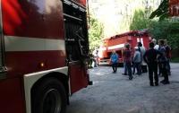 Пожар в Мариуполе: дети подожгли гараж