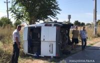 Микроавтобус попал в ДТП в Одесской области, пострадали 11 человек