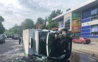 ДТП в Харькове: маршрутка влетела в авто, пострадали десятки человек