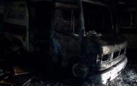 В столице сгорели две машины скорой помощи
