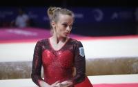 Украинская гимнастка привезла домой два