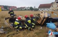 В Польше упал вертолет, погибли люди