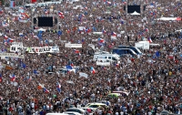 В Праге 250 тыс. человек требовали отставки премьера