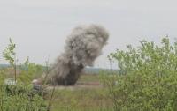 Под Днепром при взрыве на соревнованиях пострадали восемь военных