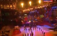 Путинские байкеры в Крыму устроили шабаш с факелами и свастикой (ВИДЕО)