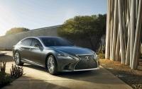 Lexus представил в Детройте флагманский седан LS