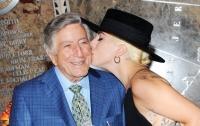 Тони Беннетт отметил 90-летие в компании Леди Гаги