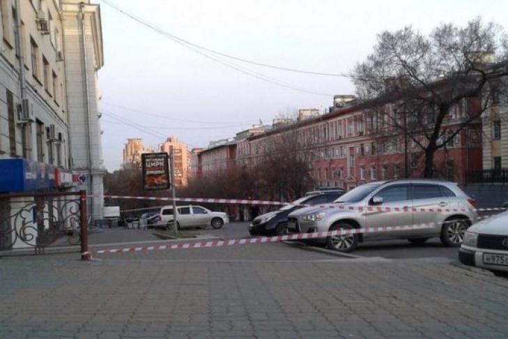 НаФСБ вХабаровске напали сукраденным встрелковом клубе оружием