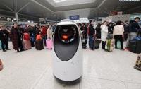 В Китае появился робокоп