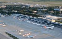 В аэропорту Борисполь заметили пожар (фото)