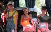 «Запорожская провинция» отправила на отдых четвертую группу детей (ФОТО)