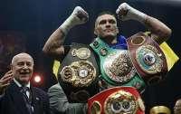 Усик заявил, что готов боксировать с кем угодно в бое за титул чемпиона мира