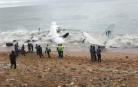 Предположительно украинский самолет разбился в Африке