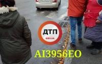 В Киеве средь бела дня похитили девушку