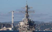 Эсминец ВМС США пришвартовался в одесском порту
