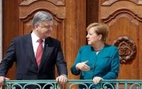 Порошенко рассказал о визите Меркель в Украину