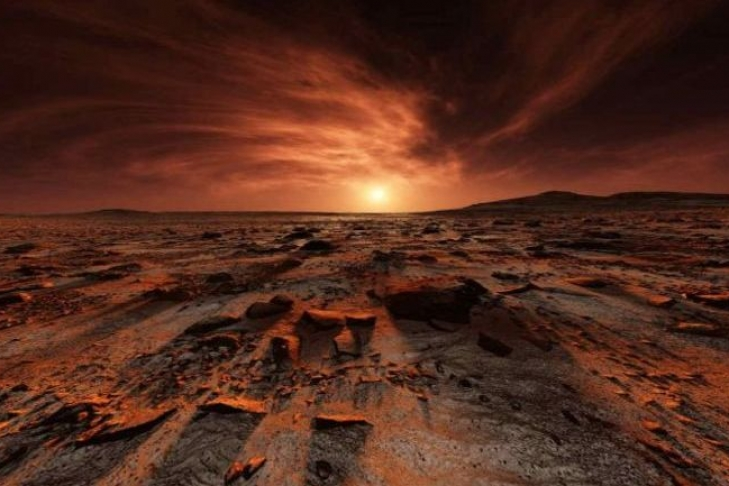 NASA: на Марсе обнаружили вооруженного инопланетянина