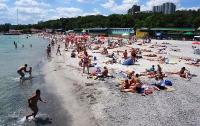 В Одессе туристам запретили купаться из-за аномальных водорослей