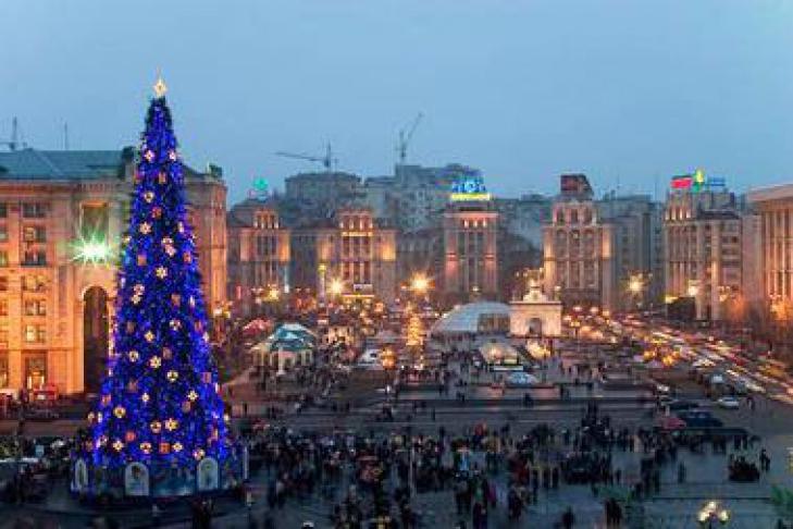 Как в украине проводят новый год