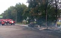 Под Киевом взорвалась автозаправка, есть погибшие
