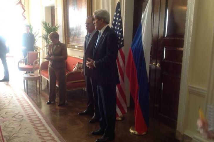Керри иЛавров договорились оновых переговорах поситуации вСирии