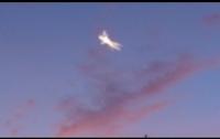 Камера наблюдения зафиксировала в Мельбурне НЛО с крыльями