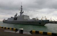 Военный фрегат Франции прибыл в Одессу