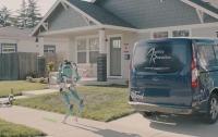 Ford представил робота-разносчика для беспилотной службы доставки