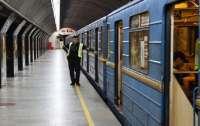 В киевском метро потушили пожар шваброй (видео)