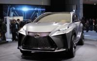 Концепт Lexus LF-NX станет серийным к автосалону в Женеве