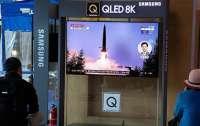 КНДР впервые за год провела испытания баллистических ракет