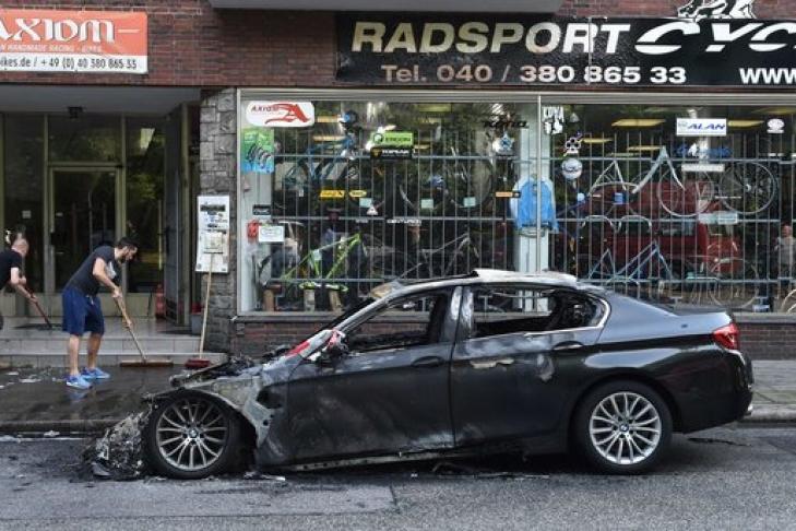 Германия выплатит миллионы евро пострадавшим отбеспорядков наG20