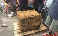 В Виннице откопали сейф времен Второй мировой войны