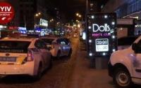 В клубе Киева десять вооруженных мужчин устроили перестрелку