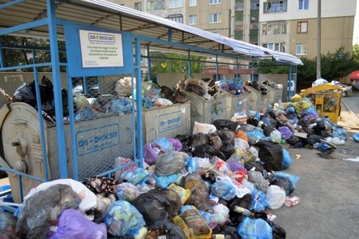 На автотрассе «Киев— Копти— Бачевск» милиция задержала два грузового автомобиля сльвовским мусором