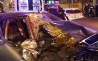 Пьяный водитель устроил ДТП в центре Киева